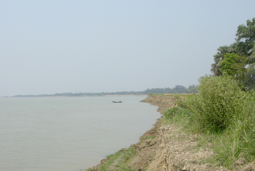 Right bank of Rupnarayan